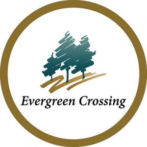 Evergreen Crossing logo