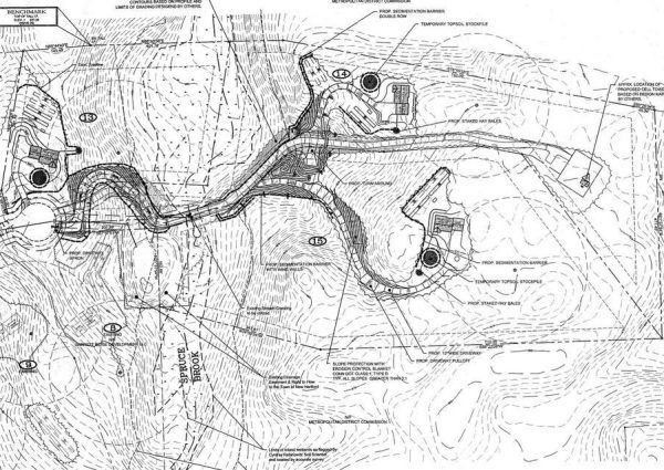Map of Garrett Ridge Court, New Hartford, CT
